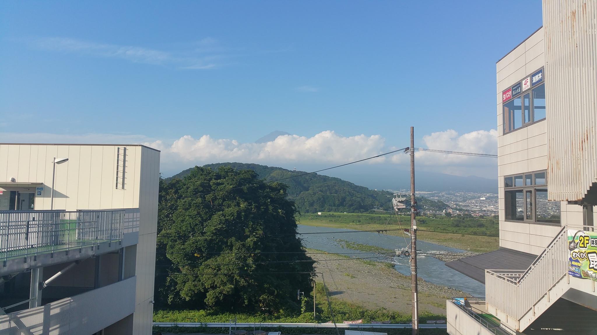 藤川展望台からの富士山
